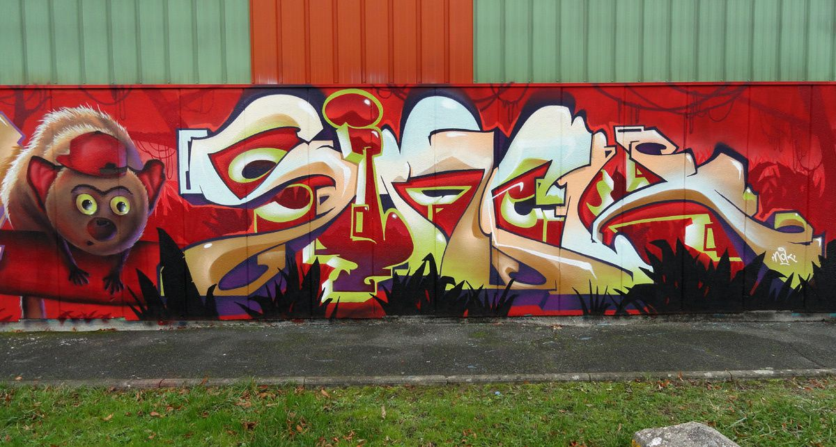 Street Art : Graffitis &amp&#x3B; Fresques Murales 91549 Sainte Geneviève des bois