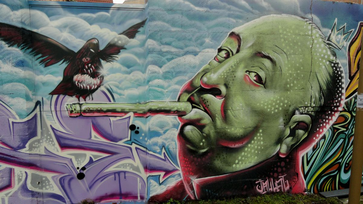 Street Art : Graffitis &amp&#x3B; Fresques Murales 27284 Gisors