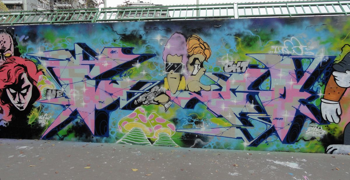 Album - Graffitis Paris Tom 055