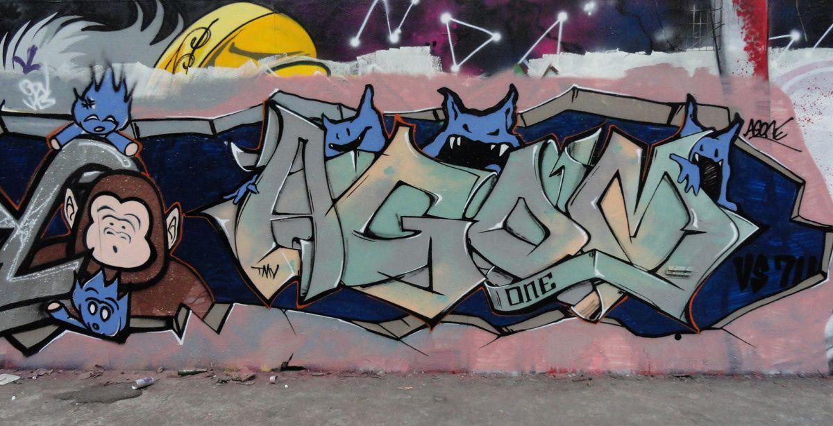 Street Art : Graffitis &amp&#x3B; Fresques Murales Département Hauts de Seine