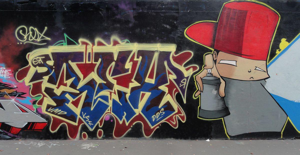 Street Art : Graffitis &amp&#x3B; Fresques Murales 75018 Paris