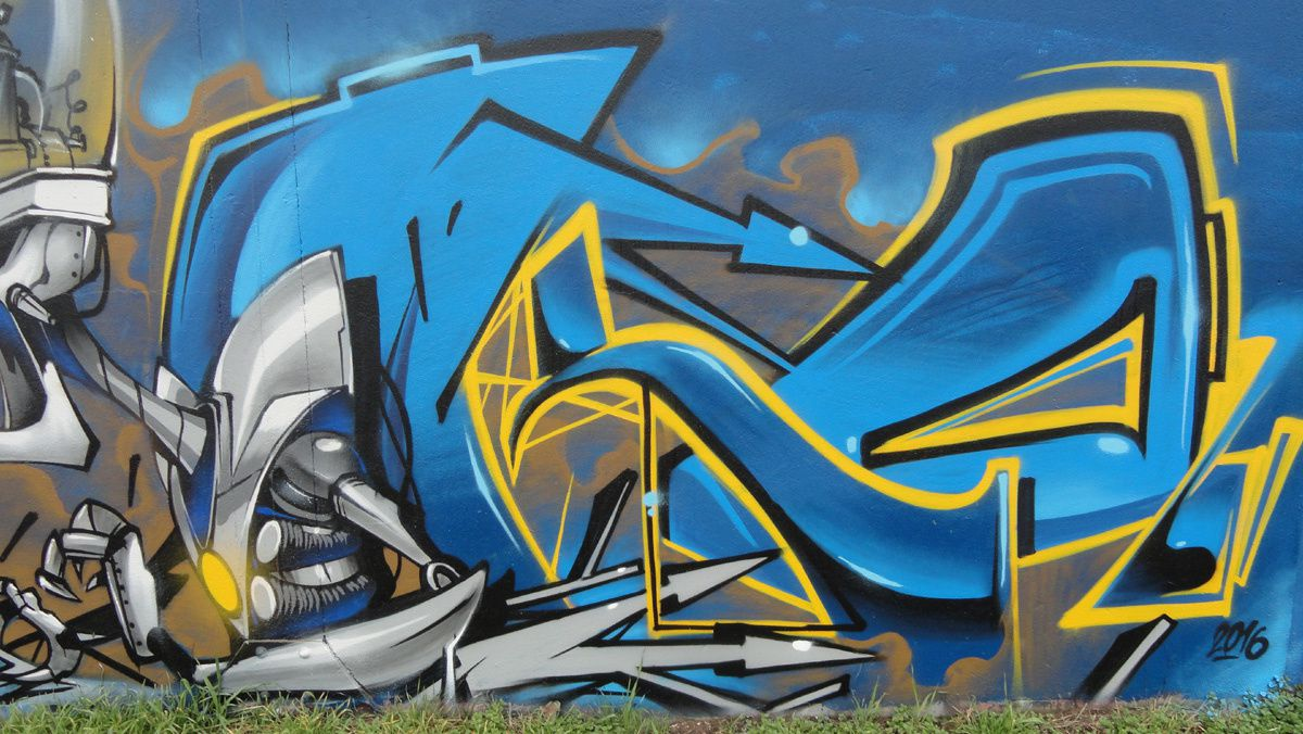 Street Art : Graffitis &amp&#x3B; Fresques Murales 76103 Bonsecours
