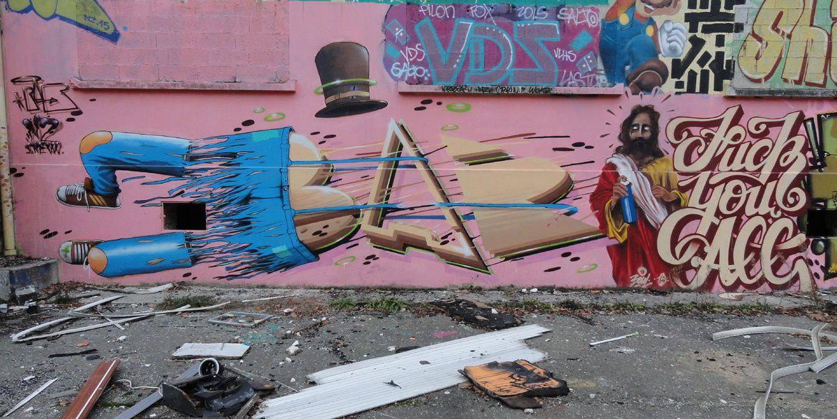 Street Art : Graffitis &amp&#x3B; Fresques Murales Département Yvelines (78)