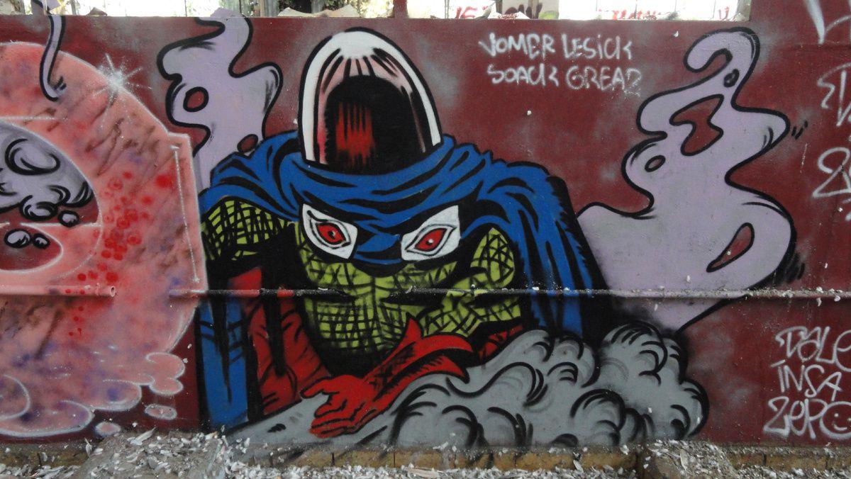Street Art : Graffitis &amp&#x3B; Fresques Murales 77284 Meaux