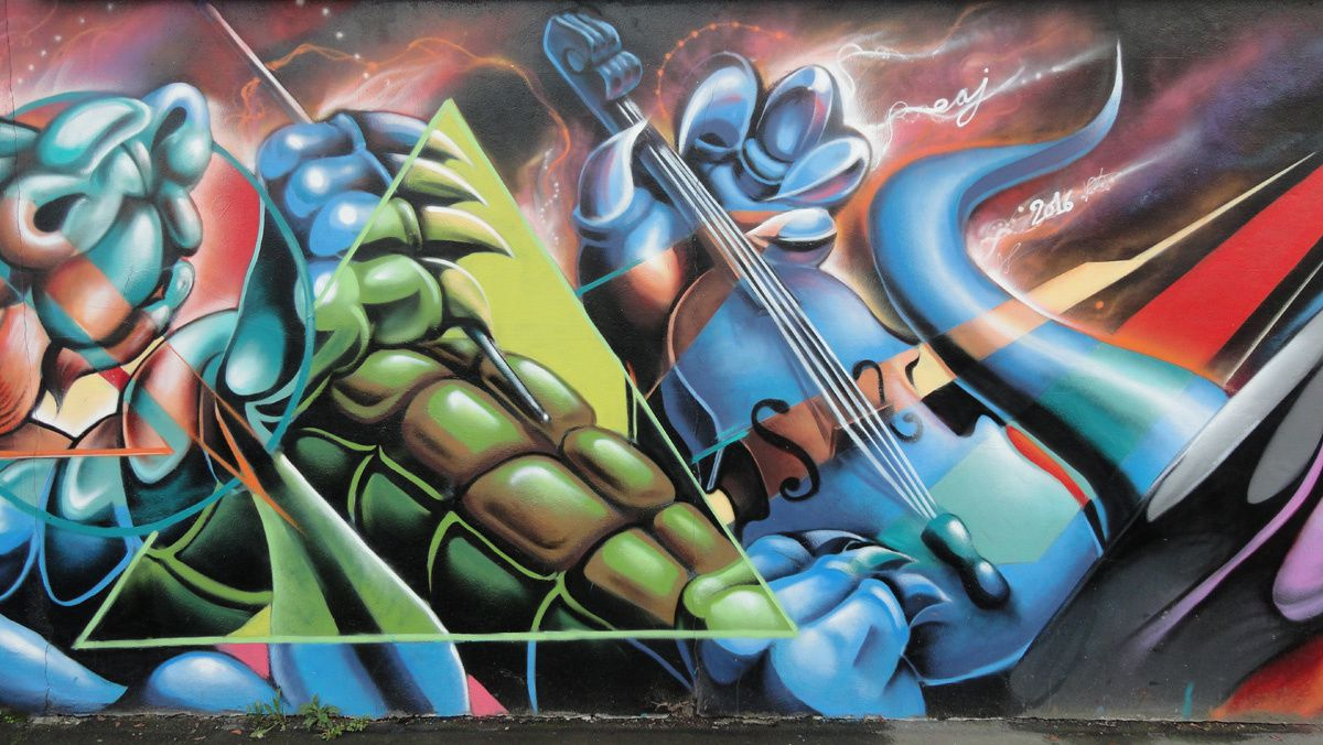 Street Art : Graffitis &amp&#x3B; Fresques Murales 92007 Bagneux