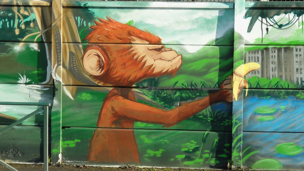 Street Art : Graffitis &amp&#x3B; Fresques Murales 92020 Chatillon
