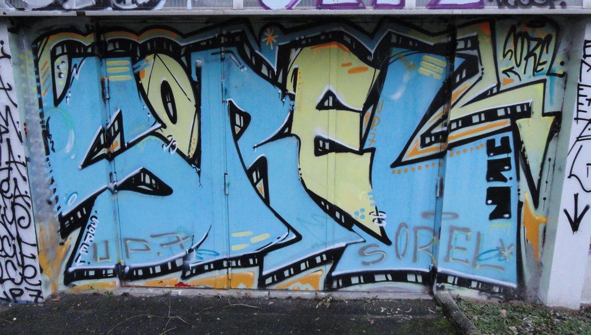 Street Art : Graffitis &amp&#x3B; Fresques Murales 91471 Orsay