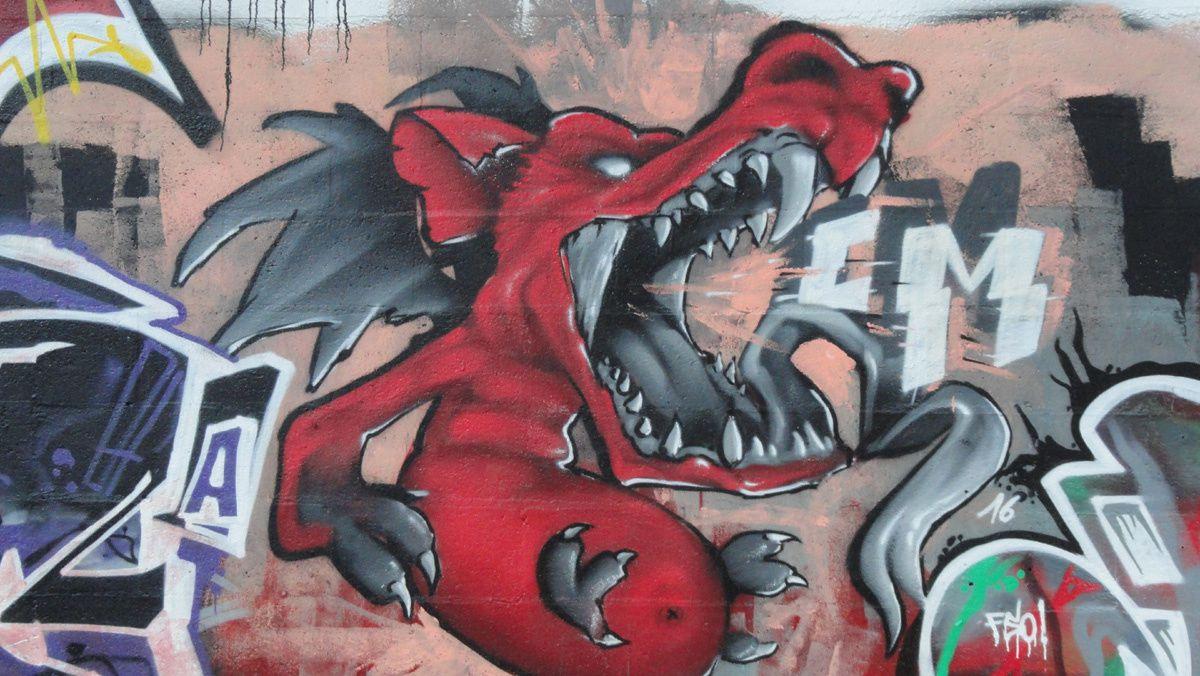 Street Art : Graffitis &amp&#x3B; Fresques Murales 60414 Montataire