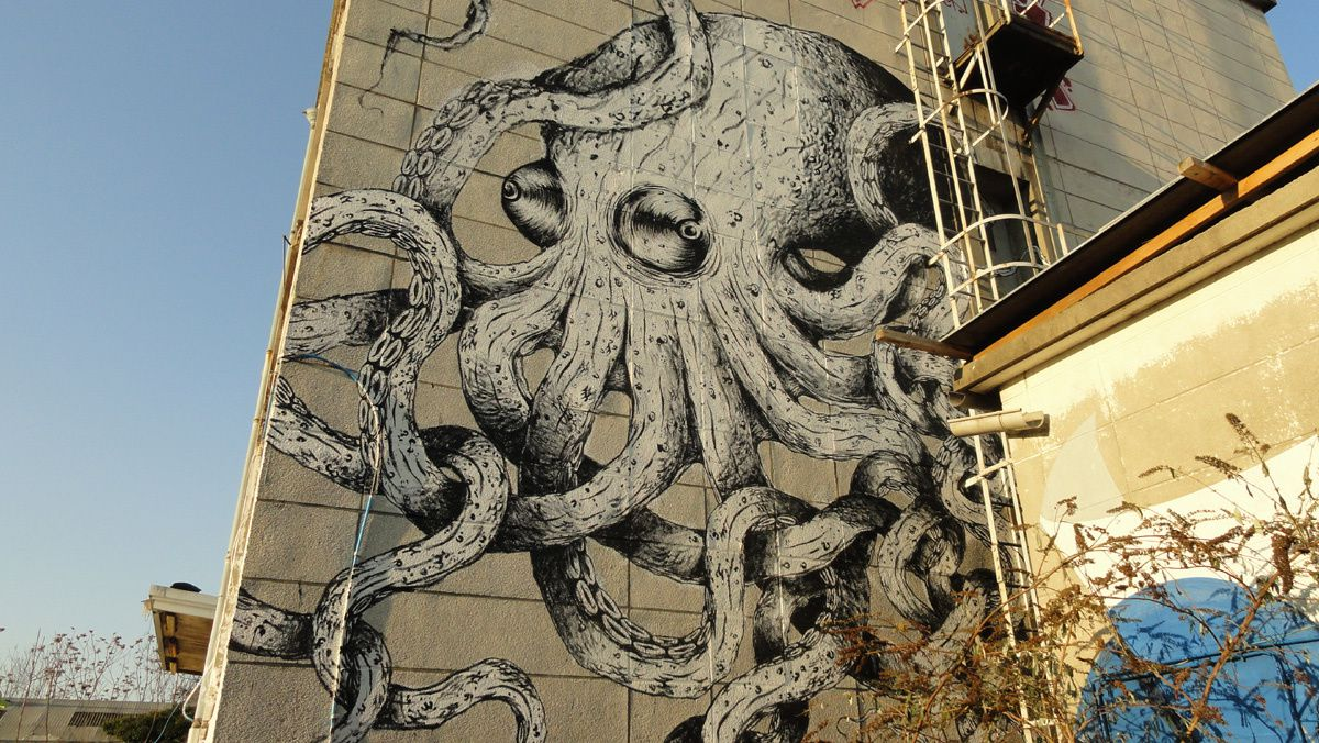 Street Art : Graffitis &amp&#x3B; Fresques Murales 93070 Saint Ouen