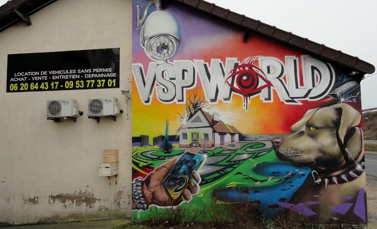 Street Art : Graffitis &amp&#x3B; Fresques Murales 91421 Montgeron