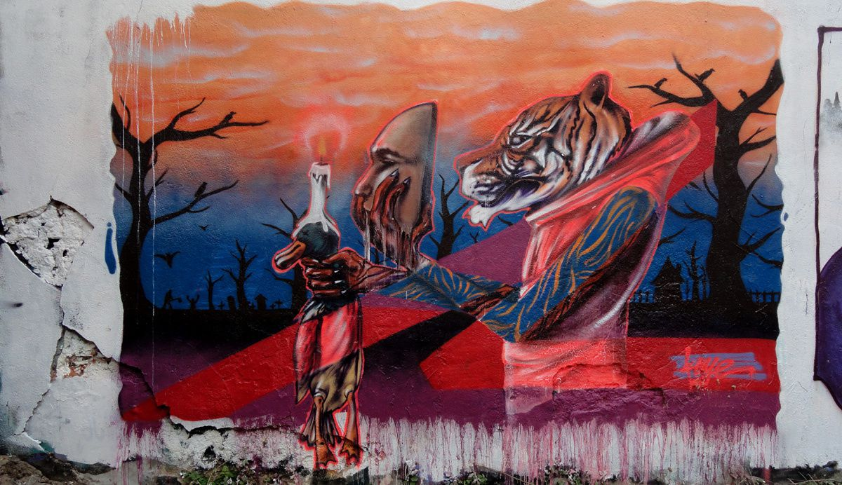 Street Art : Graffitis &amp&#x3B; Fresques Murales 45234 Orléans