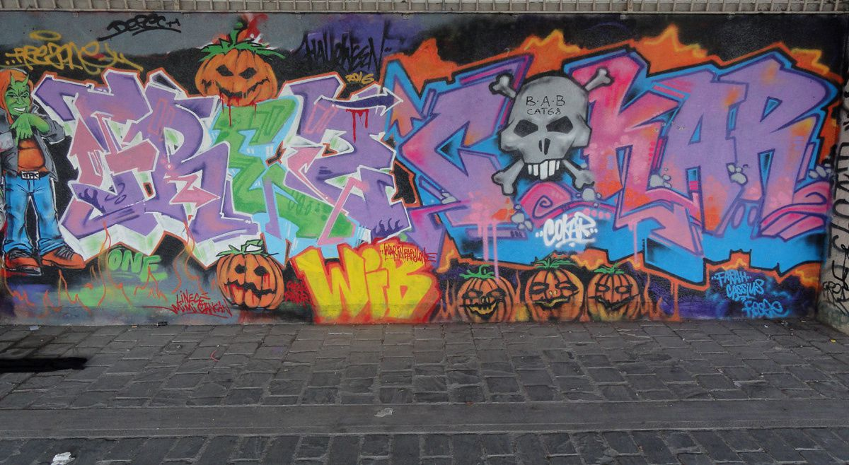 Street Art : Graffitis &amp&#x3B; Fresques Murales 75013 Paris