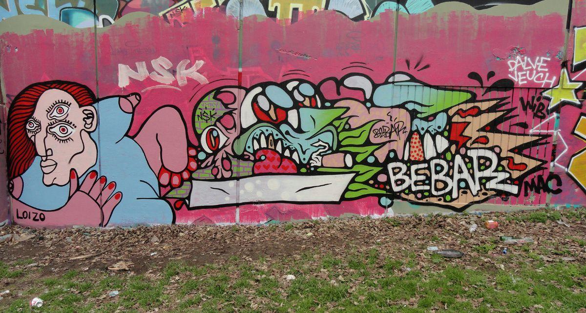 Street Art : Graffitis &amp&#x3B; Fresques Murales 94400 Vitry sur seine