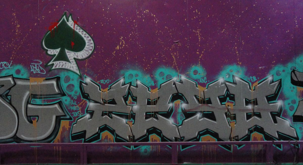 Street Art : Graffitis &amp&#x3B; Fresques Murales 91103 Bretigny