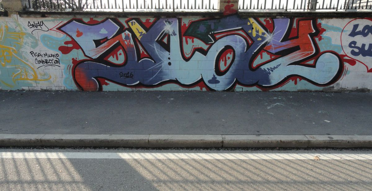 Album - Graffitis Italie Tom 001