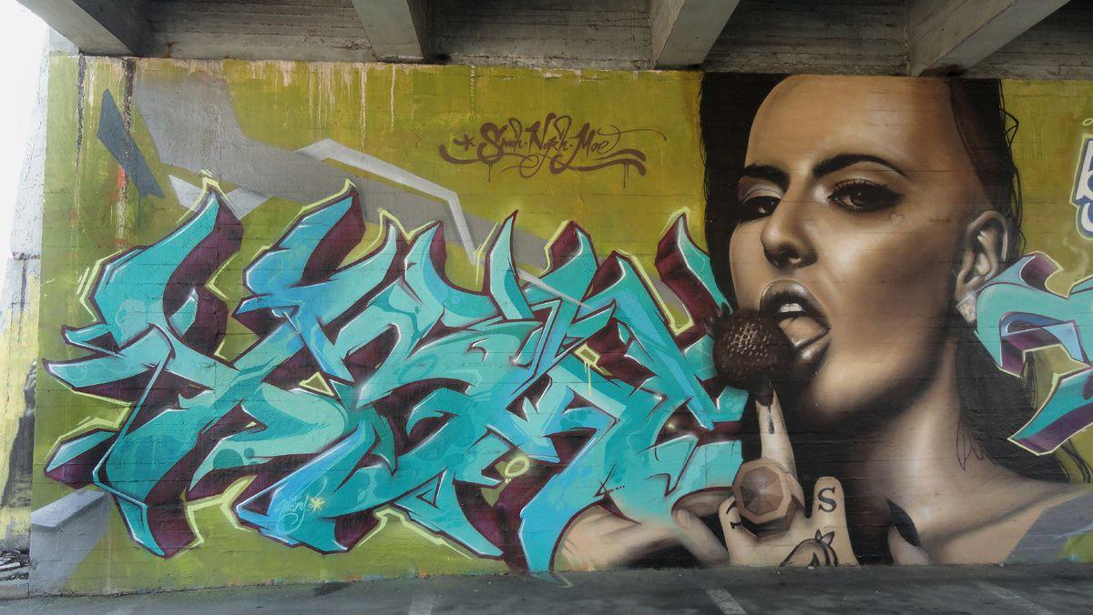 Street Art : Graffitis &amp&#x3B; Fresques Trezzano sul Naviglio (Italy)