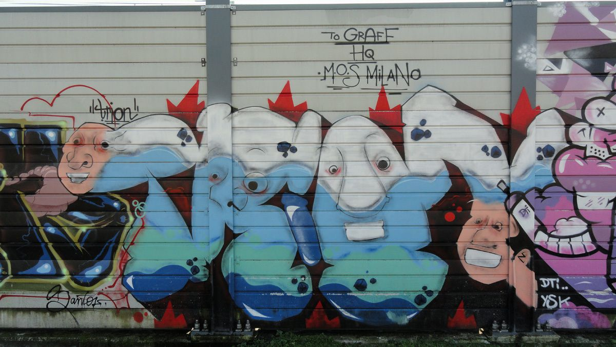 Album - Graffitis Italie Tom 003