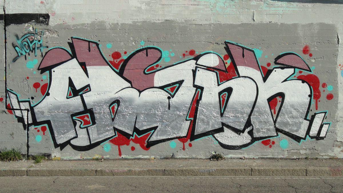 Street Art : Graffitis &amp&#x3B; Fresques Corsico Milano (Italy)