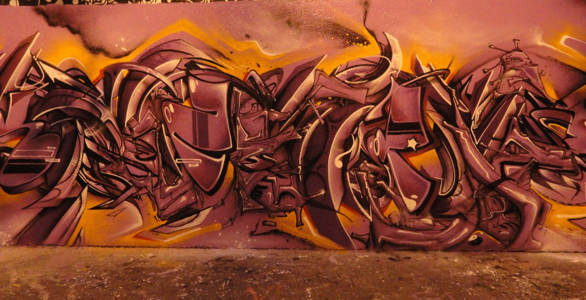 Street Art : Graffitis &amp&#x3B; Fresques Murales 75019 Paris
