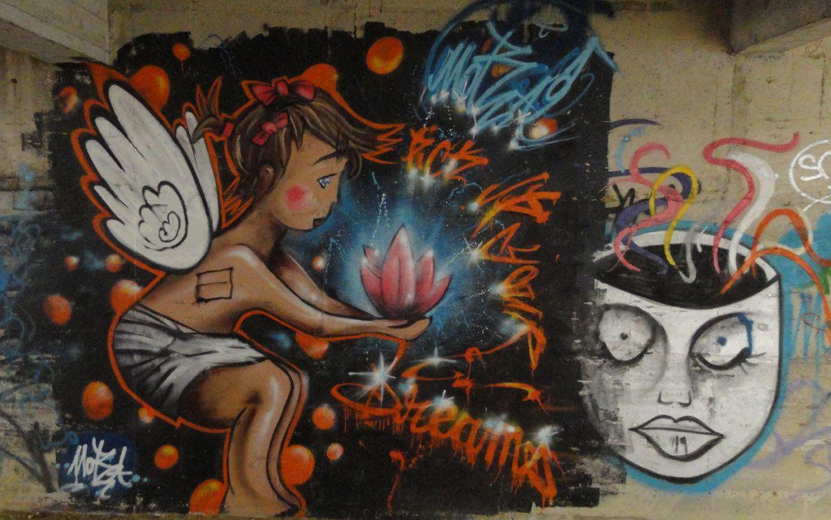 Street Art : Graffitis &amp&#x3B; Fresques Murales 60159 Compiegne