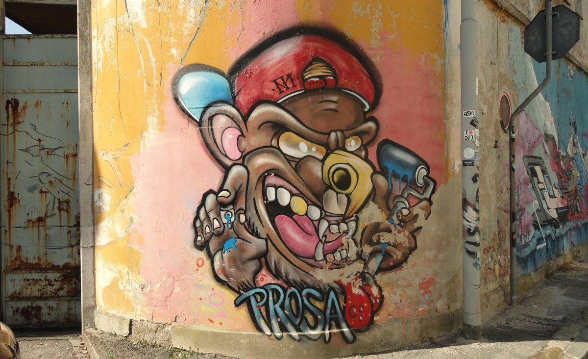 Street Art : Graffitis &amp&#x3B; Fresques Murales Corsico Milano (Italy)
