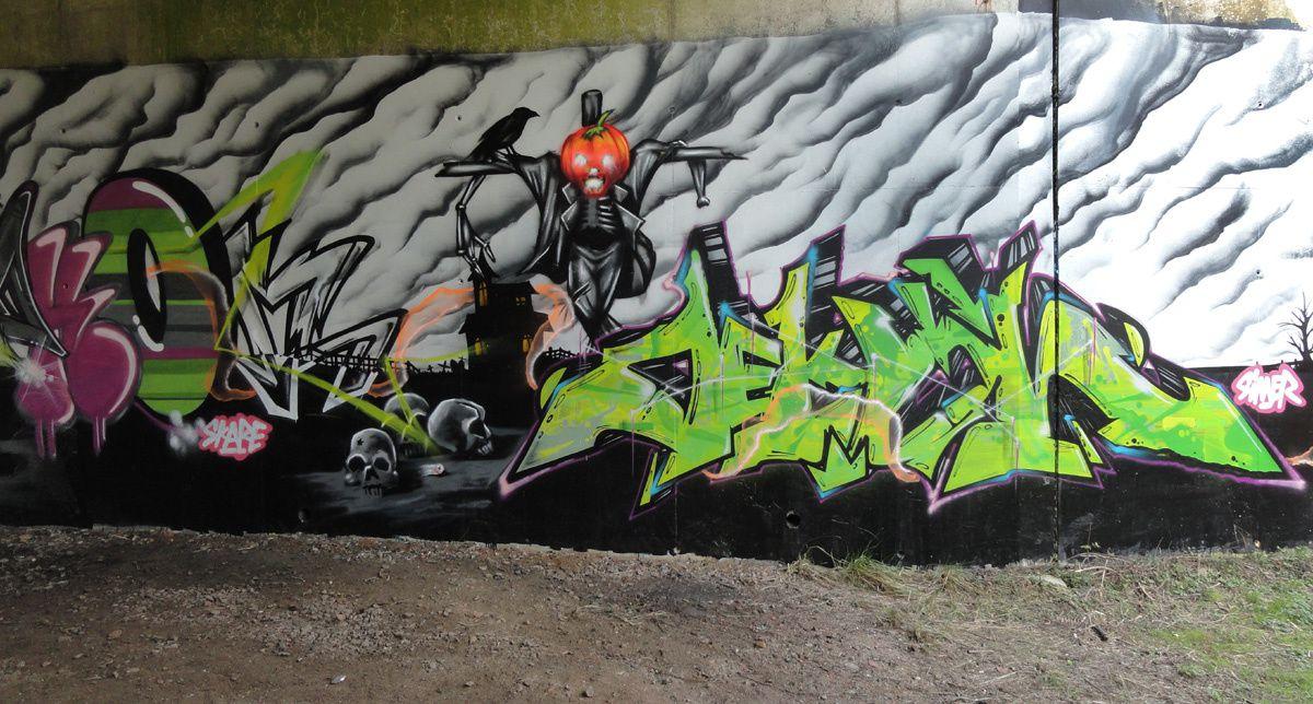 Street Art : Graffitis &amp&#x3B; Fresques Murales Département Aisne (02)