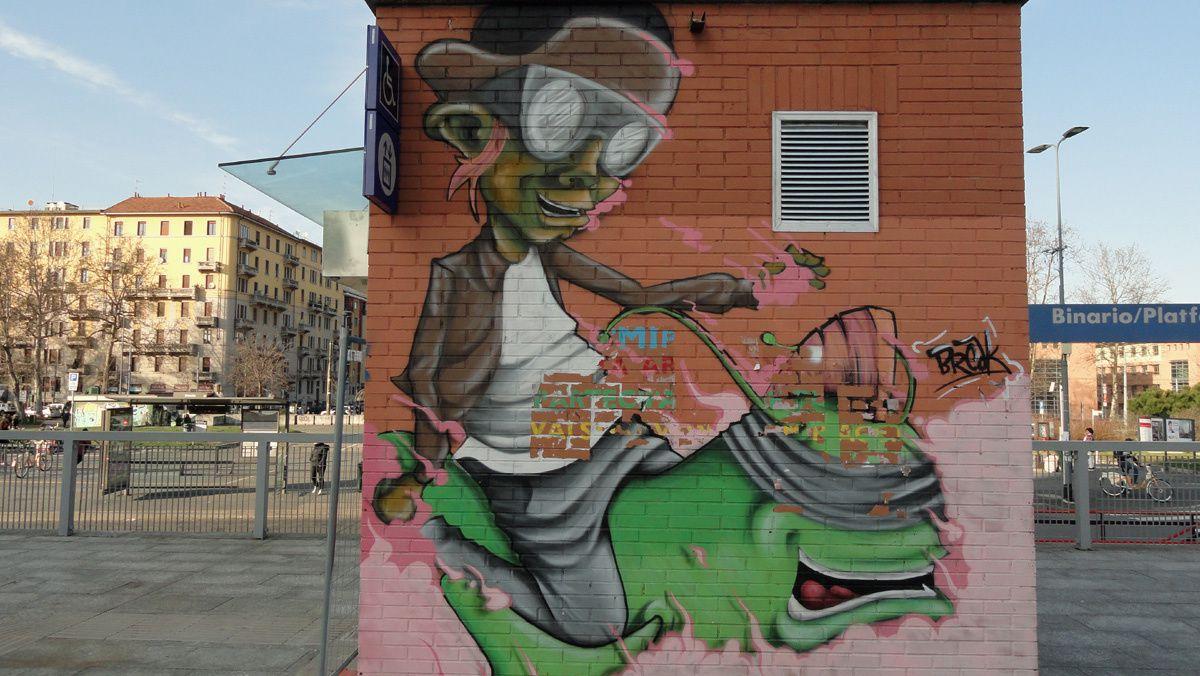 Street Art : Graffitis &amp&#x3B; Fresques Murales Milano (Italy)