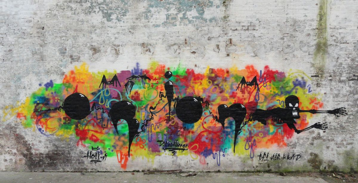 Street Art : Graffitis &amp&#x3B; Fresques Murales Département Somme (80)