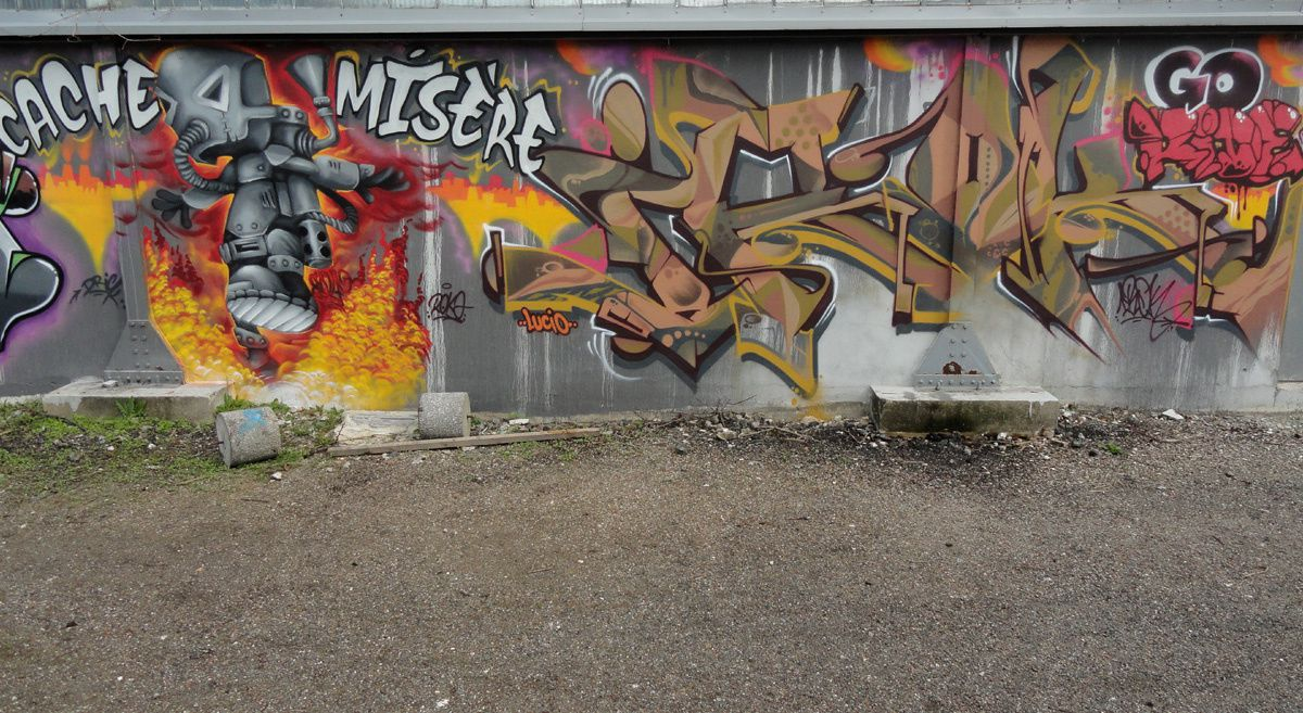 Street Art : Graffitis &amp&#x3B; Fresques Murales 60057 Beauvais