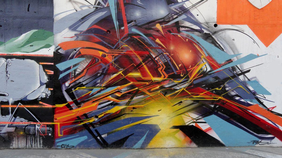Street Art : Graffitis &amp&#x3B; Fresques Murales Milano
