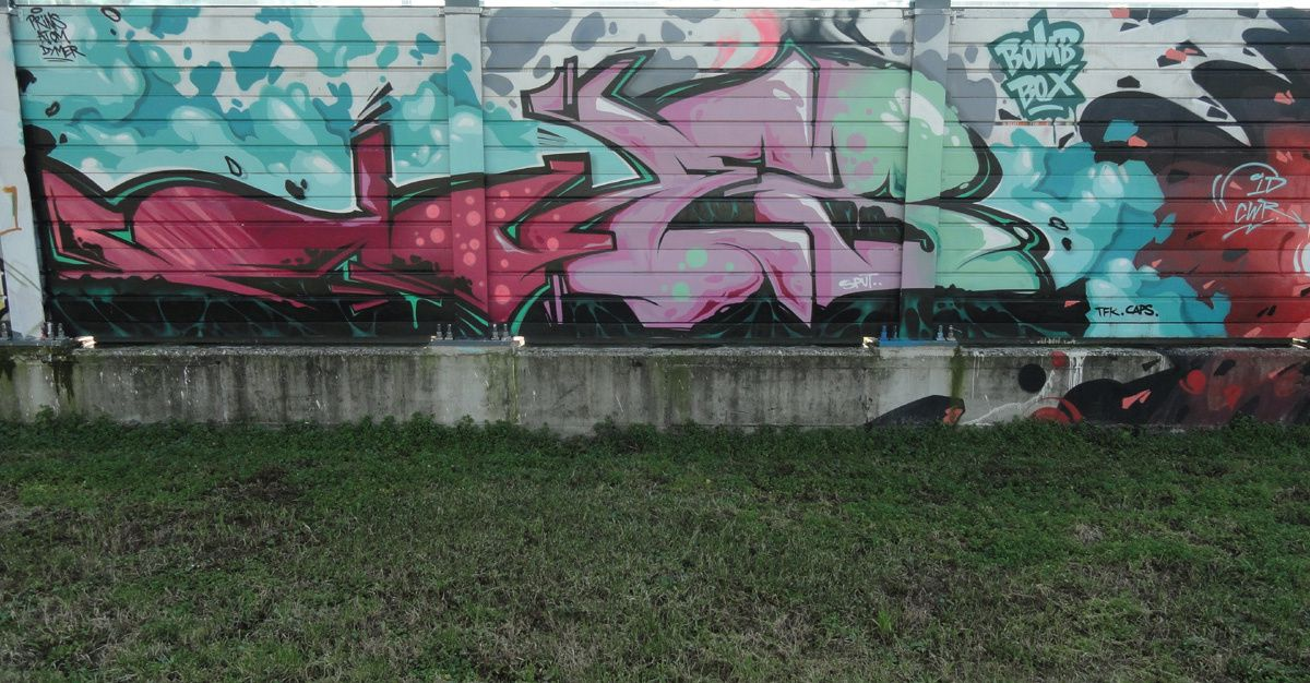 Street Art : Graffitis &amp&#x3B; Fresques Murales Trezzano sul Naviglio