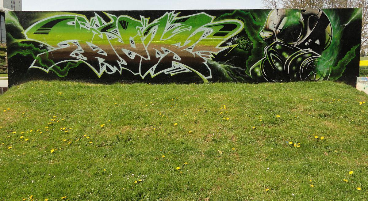 Street Art : Graffitis &amp&#x3B; Fresques Murales 02691 Saint Quentin