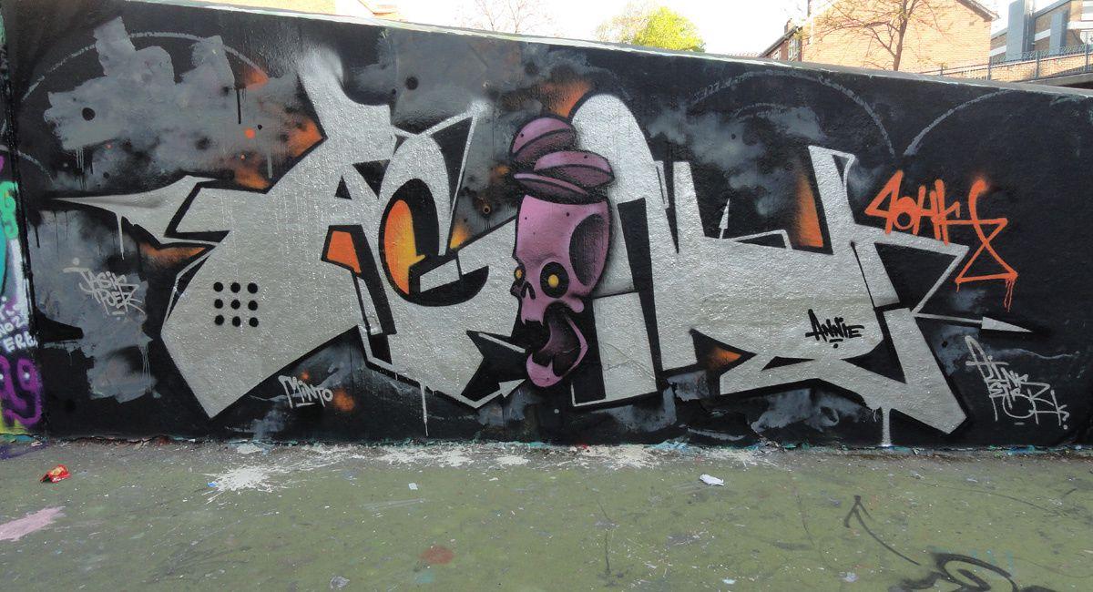 Street Art : Graffitis &amp&#x3B; Fresques Murales District Stockwell South London