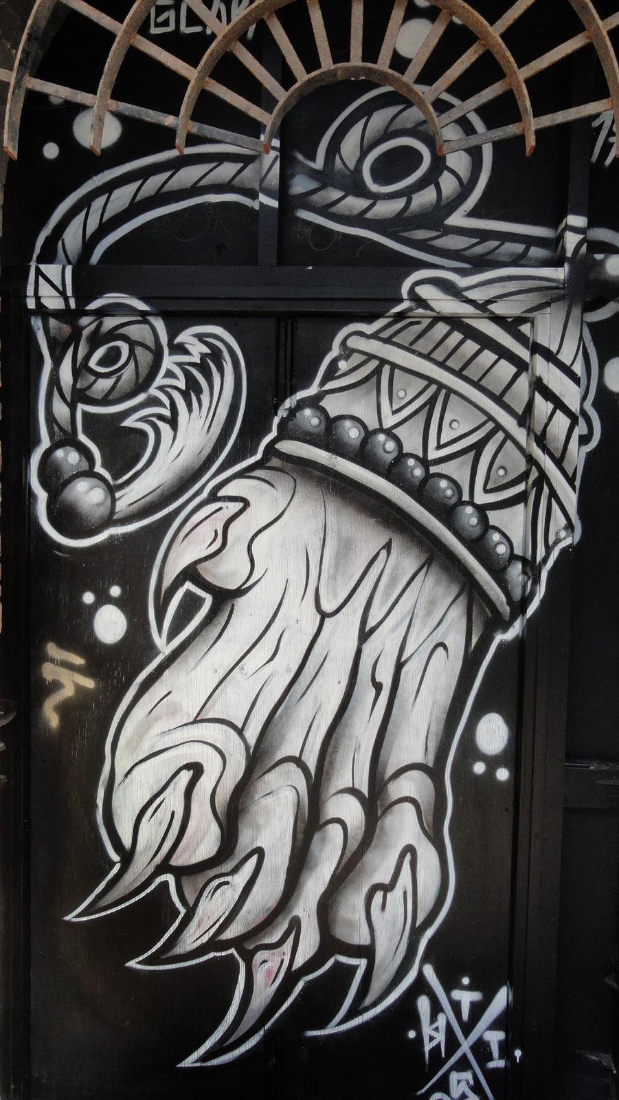 Street Art : Graffitis &amp&#x3B; Fresques Murales District Spitalfields East End of London