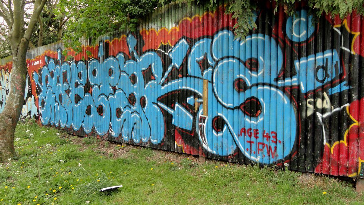 Street Art : Graffitis &amp&#x3B; Fresques Murales District Stockwell South Tottenham