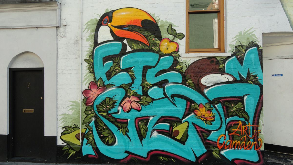 Album - Graffitis London  Tom 002