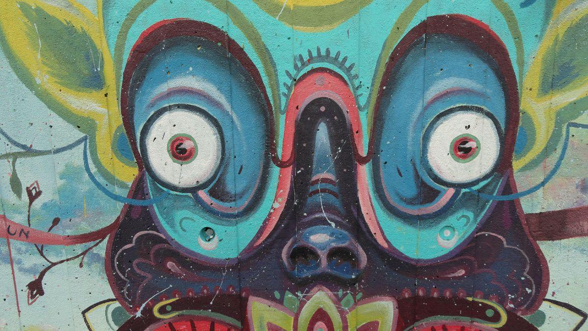 Street Art : Graffitis &amp&#x3B; Fresques Murales Southbank London