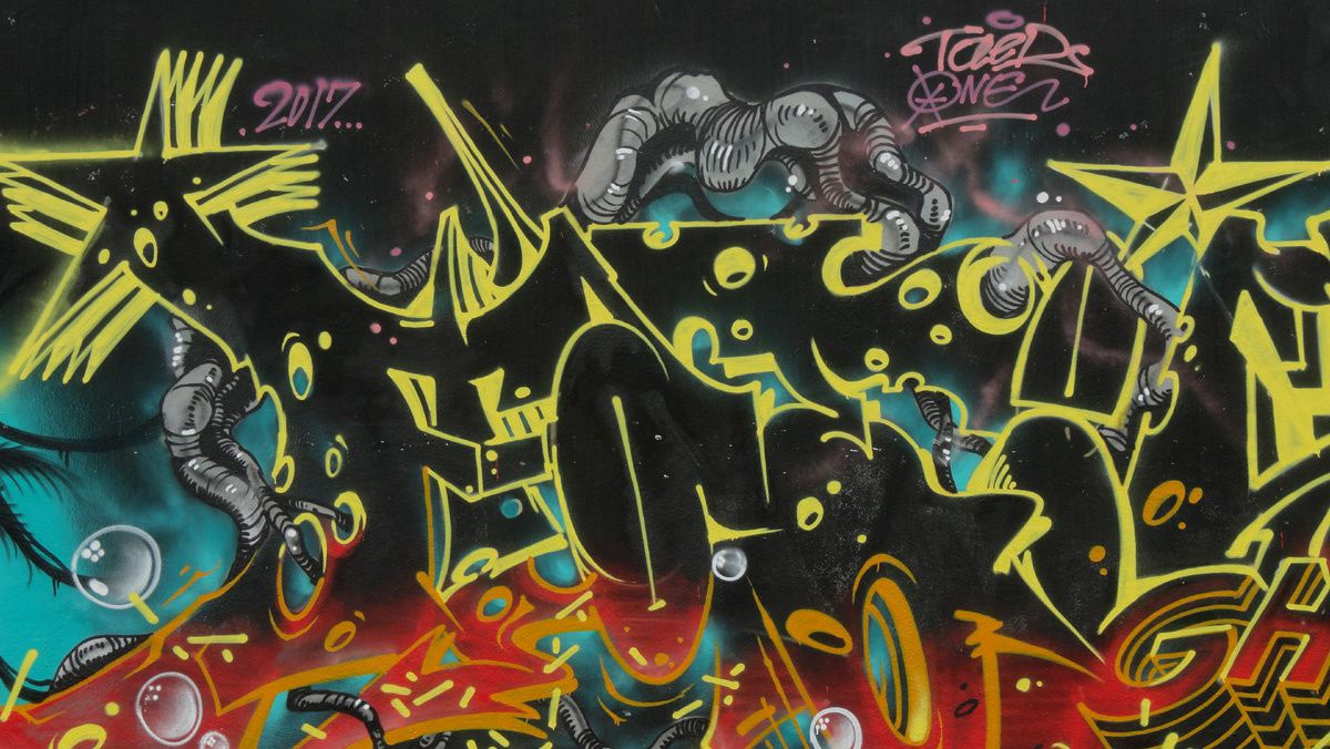 Street Art : Graffitis &amp&#x3B; Fresques Murales 94037 Gentilly