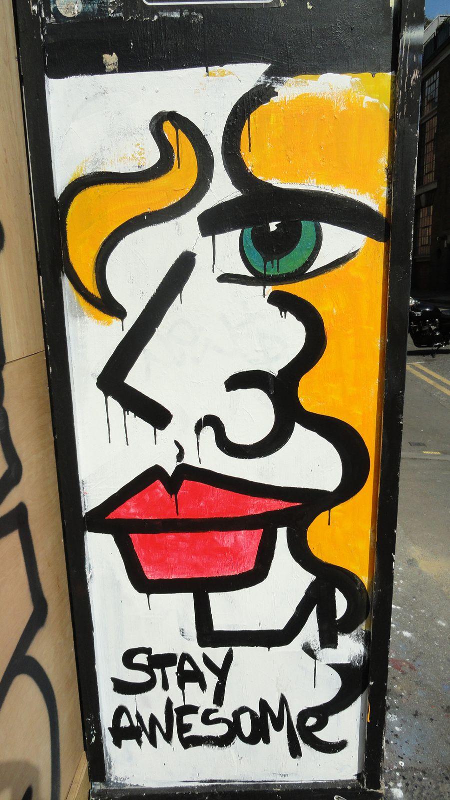 Street Art : Graffitis &amp&#x3B; Fresques Murales Shoreditch London