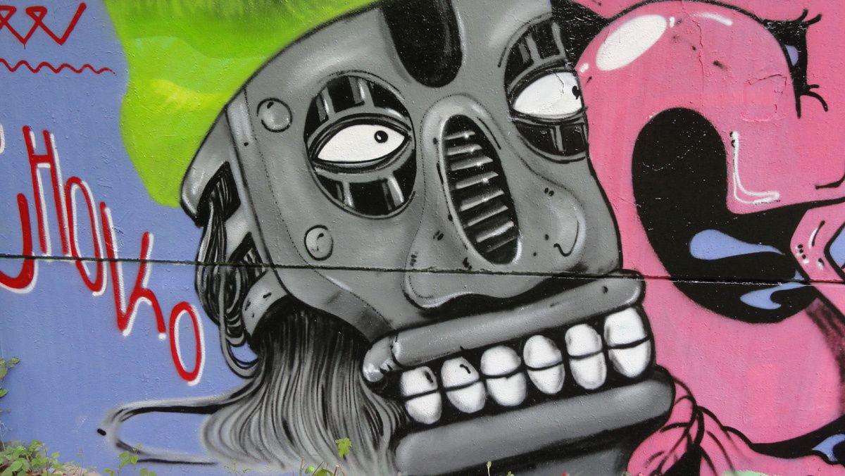 Street Art : Graffitis &amp&#x3B; Fresques Murales  95582 Sannois
