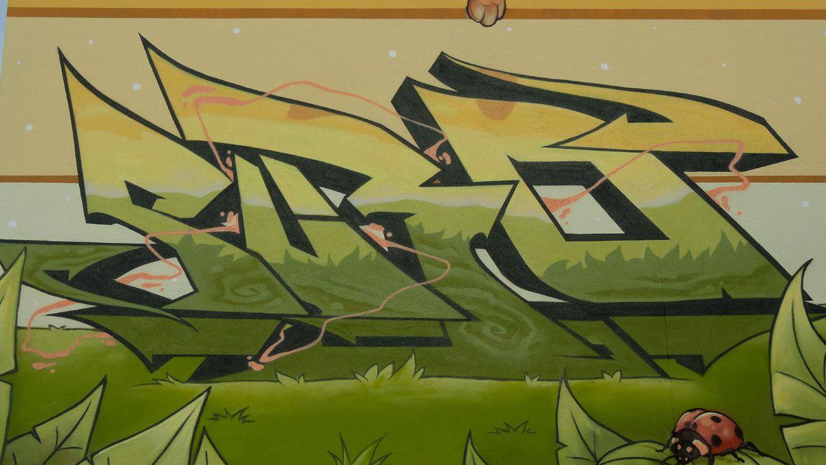 Street Art : Graffitis &amp&#x3B; Fresques Murales  57666 Terville