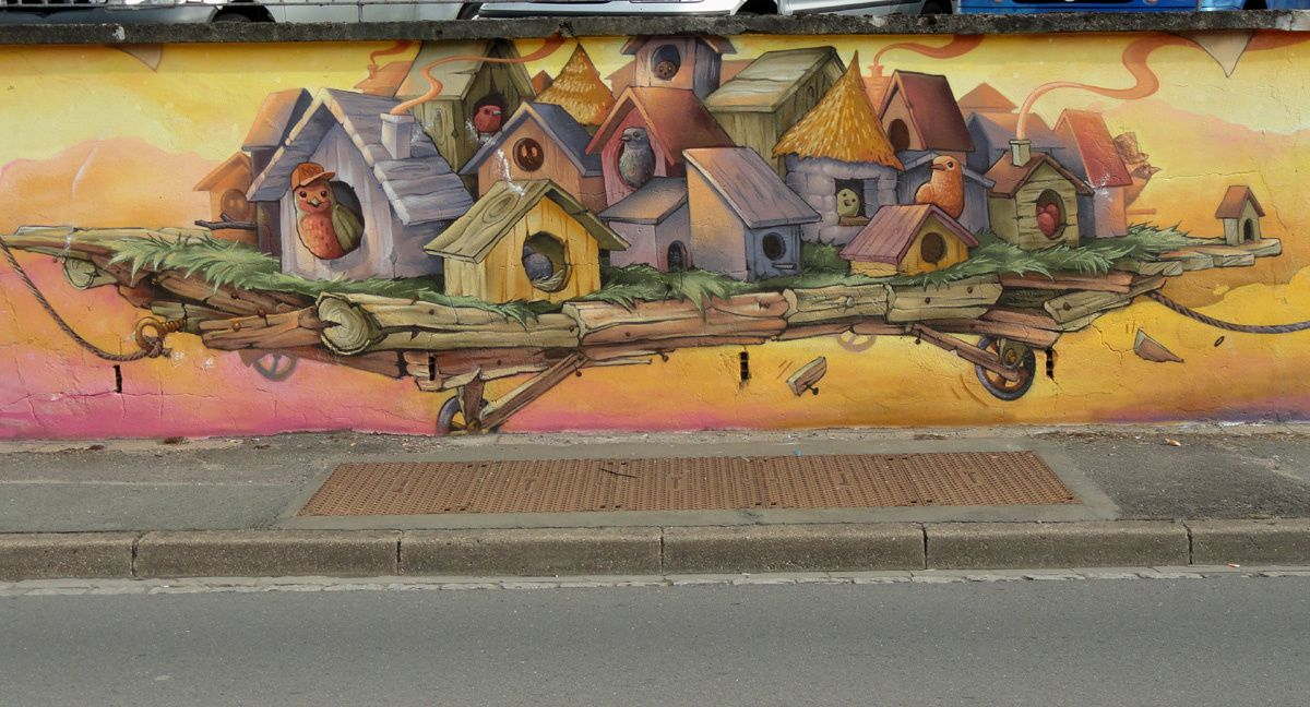 Street Art : Graffitis &amp&#x3B; Fresques Murales 54261 Herserange