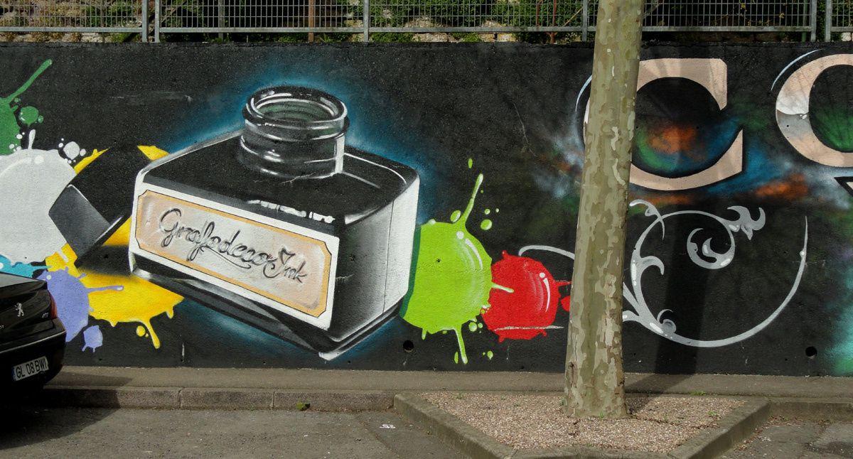 Street Art : Graffitis &amp&#x3B; Fresques Murales 54451 Rehon