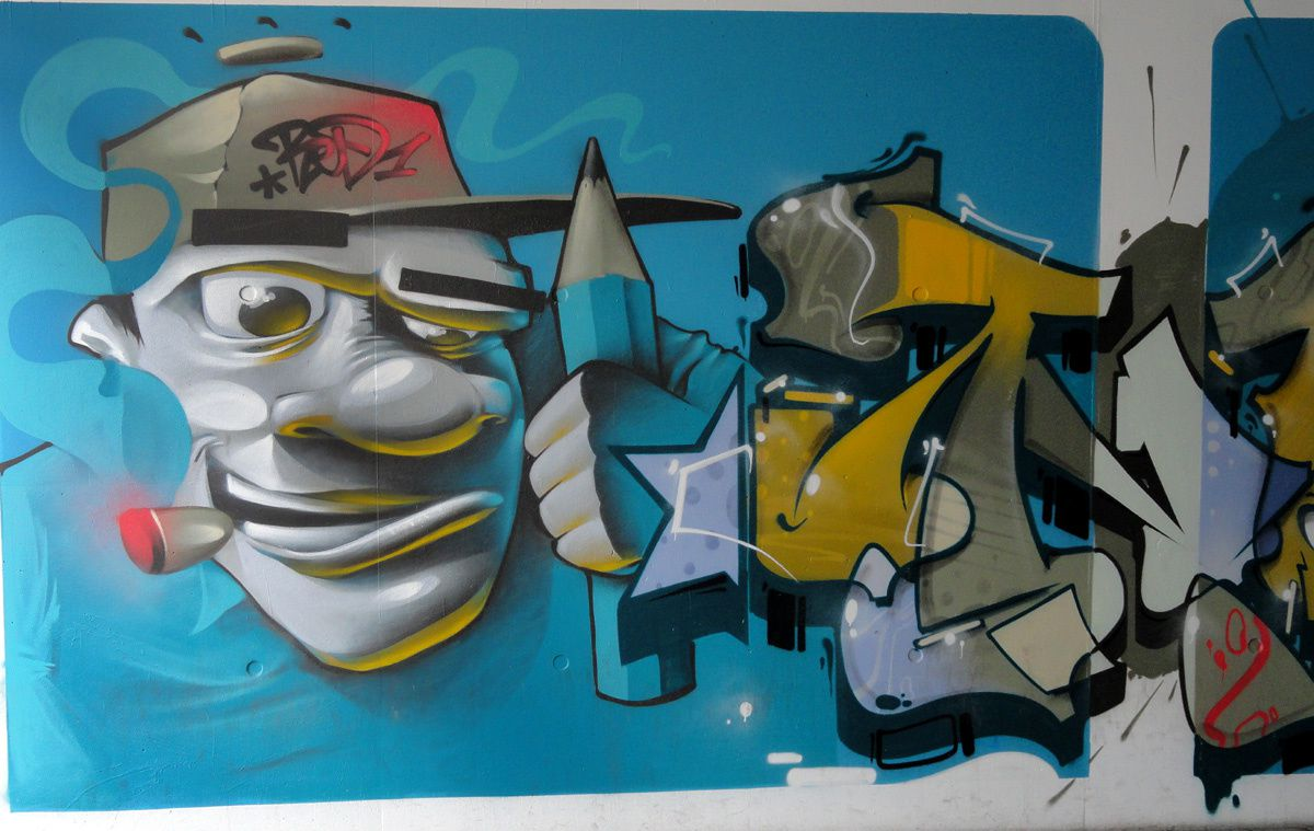 Album - Graffitis Luxembourg Tom 003
