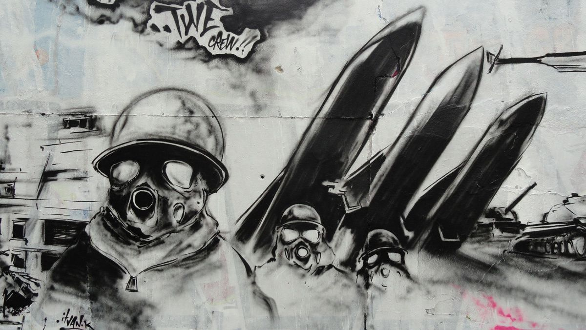 Street Art : Graffitis &amp&#x3B; Fresques Murales 75018 Paris