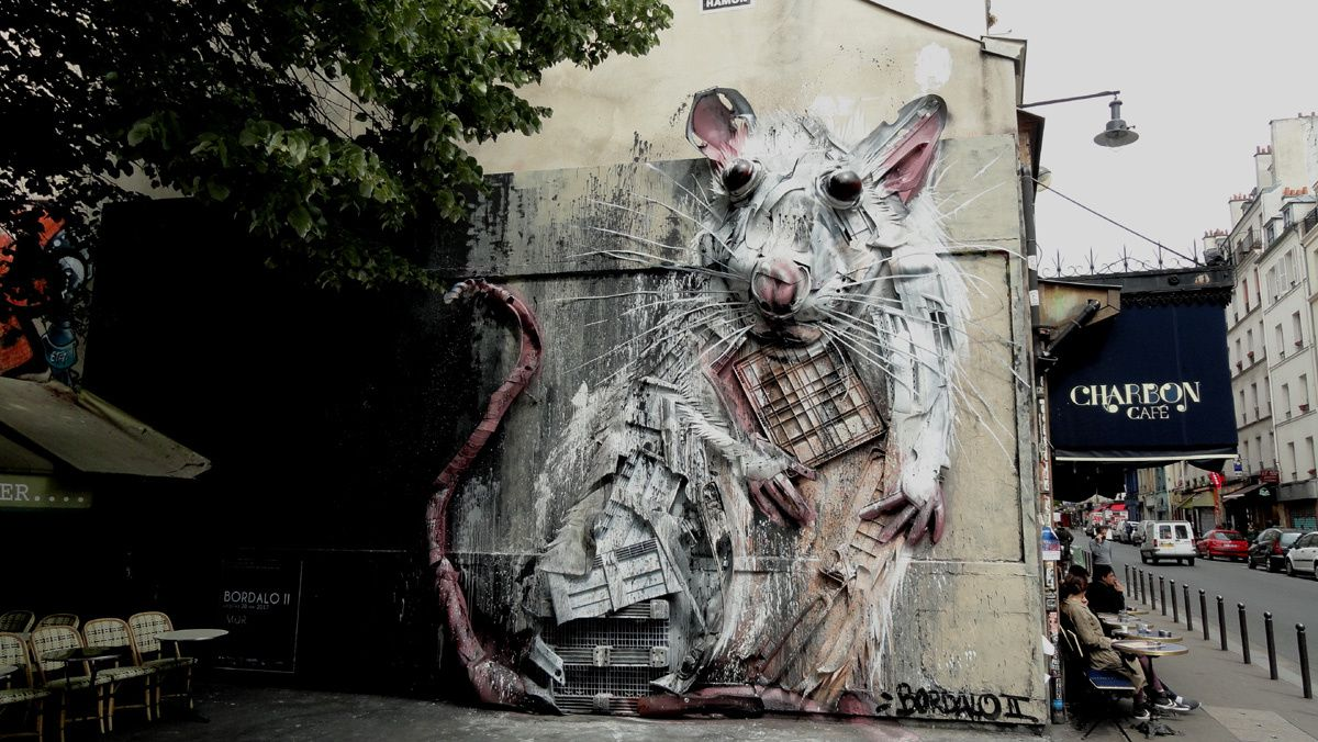 Street Art : Graffitis &amp&#x3B; Fresques Murales 75011 Paris
