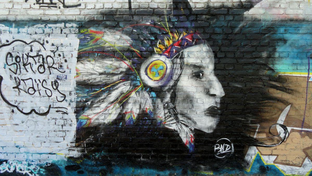 Street Art : Graffitis &amp&#x3B; Fresques Murales 93010 Bondy