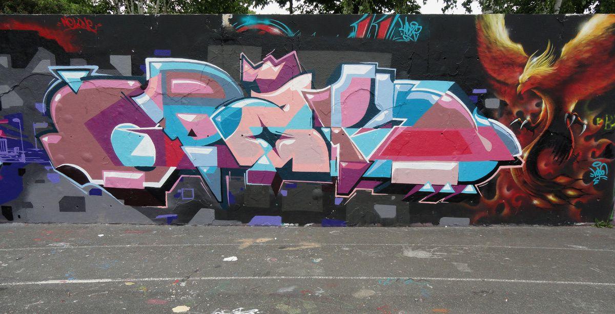 Street Art : Graffitis &amp&#x3B; Fresques Murales 94200 Ivry sur seine