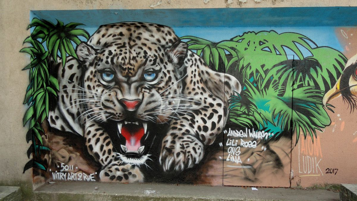 Street Art : Graffitis &amp&#x3B; Fresques Murales 94400 Vitry sur seine
