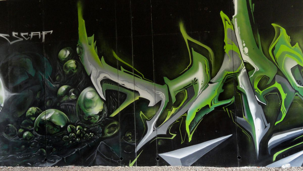 Street Art : Graffitis &amp&#x3B; Fresques Murales 54525 Tiercelet